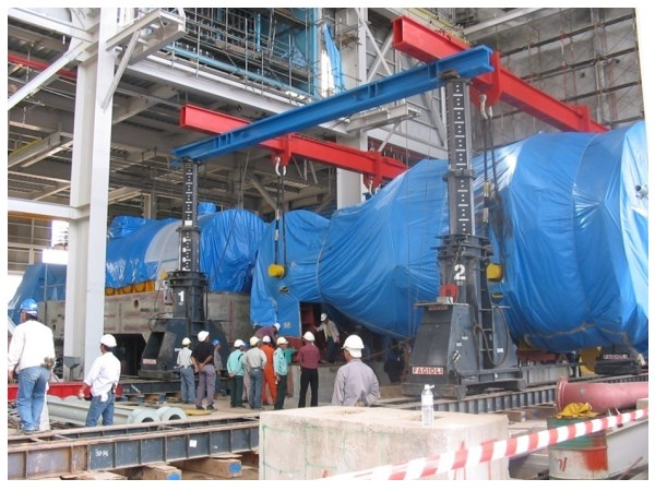 Power Plant Project - Gas Turbine Installation